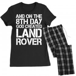 god created land rover Women's Pajamas Set | Artistshot
