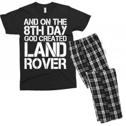 god created land rover Men's T-shirt Pajama Set | Artistshot