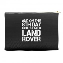 god created land rover Accessory Pouches | Artistshot