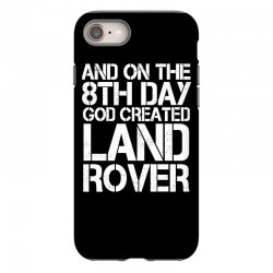 god created land rover iPhone 8 Case | Artistshot