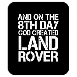 god created land rover Mousepad | Artistshot