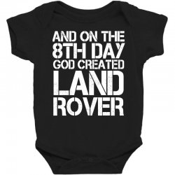 god created land rover Baby Bodysuit | Artistshot