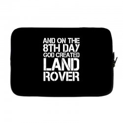 god created land rover Laptop sleeve | Artistshot
