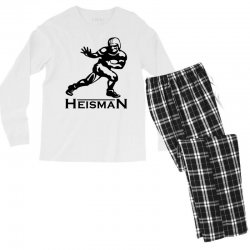 heisman Men's Long Sleeve Pajama Set | Artistshot