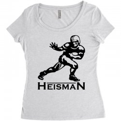 heisman Women's Triblend Scoop T-shirt | Artistshot