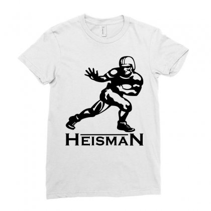 Heisman Ladies Fitted T-shirt Designed By Allentees