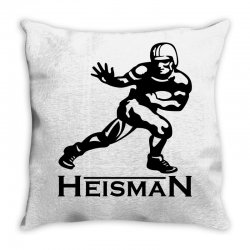 heisman Throw Pillow | Artistshot
