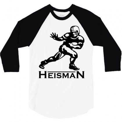 Heisman 3/4 Sleeve Shirt Designed By Allentees