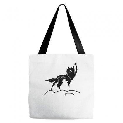 Fantastic Mr Fox Wolf Tote Bags Designed By Allentees