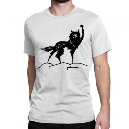 Fantastic Mr Fox Wolf Classic T-shirt Designed By Allentees