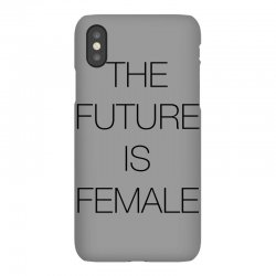 the future is female for light iPhoneX Case | Artistshot