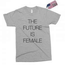 the future is female for light Exclusive T-shirt | Artistshot