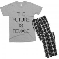 the future is female for light Men's T-shirt Pajama Set | Artistshot