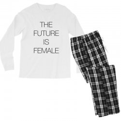 the future is female for light Men's Long Sleeve Pajama Set | Artistshot