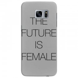 the future is female for light Samsung Galaxy S7 Edge Case | Artistshot