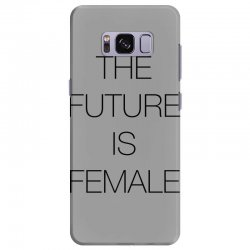 the future is female for light Samsung Galaxy S8 Plus Case | Artistshot
