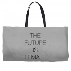 the future is female for light Weekender Totes | Artistshot