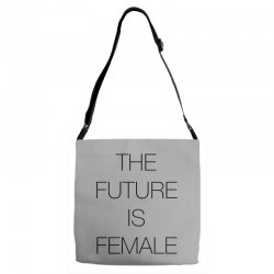 the future is female for light Adjustable Strap Totes | Artistshot