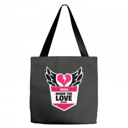 share the love series Tote Bags | Artistshot