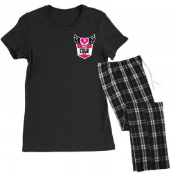 share the love series Women's Pajamas Set | Artistshot
