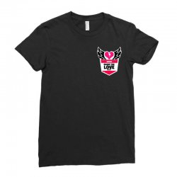 share the love series Ladies Fitted T-Shirt | Artistshot