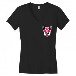share the love series Women's V-Neck T-Shirt | Artistshot