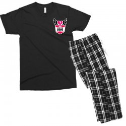 share the love series Men's T-shirt Pajama Set | Artistshot