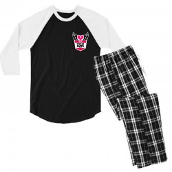 share the love series Men's 3/4 Sleeve Pajama Set | Artistshot