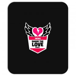 share the love series Mousepad | Artistshot
