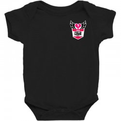 share the love series Baby Bodysuit | Artistshot