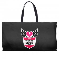 share the love series Weekender Totes | Artistshot
