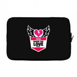 share the love series Laptop sleeve | Artistshot