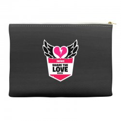 share the love series Accessory Pouches | Artistshot