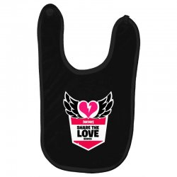 share the love series Baby Bibs | Artistshot