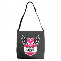 share the love series Adjustable Strap Totes | Artistshot