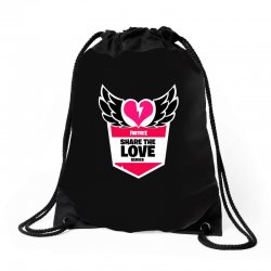 share the love series Drawstring Bags | Artistshot
