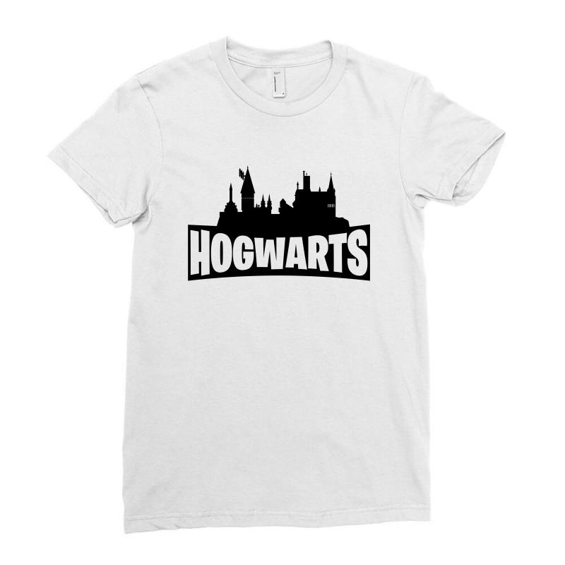 Hogwarts Parody Ladies Fitted T-shirt | Artistshot
