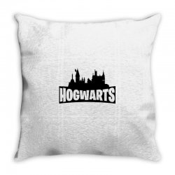 hogwarts parody Throw Pillow | Artistshot