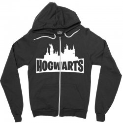 hogwarts parody for dark Zipper Hoodie | Artistshot