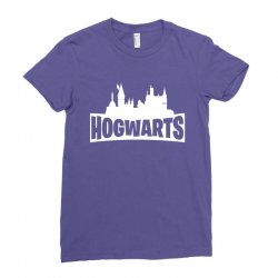 hogwarts parody for dark Ladies Fitted T-Shirt | Artistshot