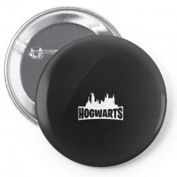 hogwarts parody for dark Pin-back button | Artistshot