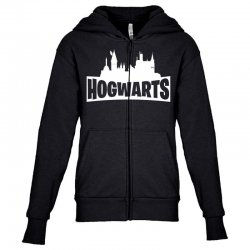 hogwarts parody for dark Youth Zipper Hoodie | Artistshot