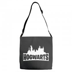 hogwarts parody for dark Adjustable Strap Totes | Artistshot
