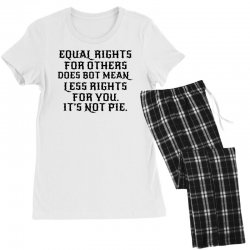 equal rights for light Women's Pajamas Set | Artistshot