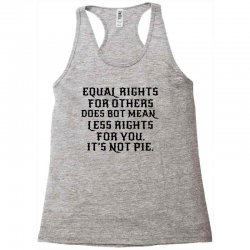 equal rights for light Racerback Tank | Artistshot