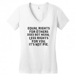equal rights for light Women's V-Neck T-Shirt | Artistshot