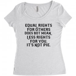 equal rights for light Women's Triblend Scoop T-shirt | Artistshot