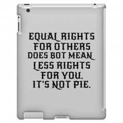 equal rights for light iPad 3 and 4 Case | Artistshot