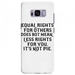 equal rights for light Samsung Galaxy S8 Plus Case | Artistshot