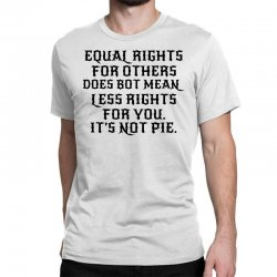 equal rights for light Classic T-shirt | Artistshot